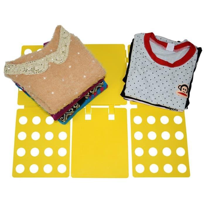 Lazy Magical Folding Clothes Board / Alat Pelipat Baju Dewasa Anak-Anak - Random Color By Asahi Computer.