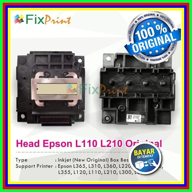 Head Printer EPSON L110 L210 L300 L350 Original New Murah - No Box Small