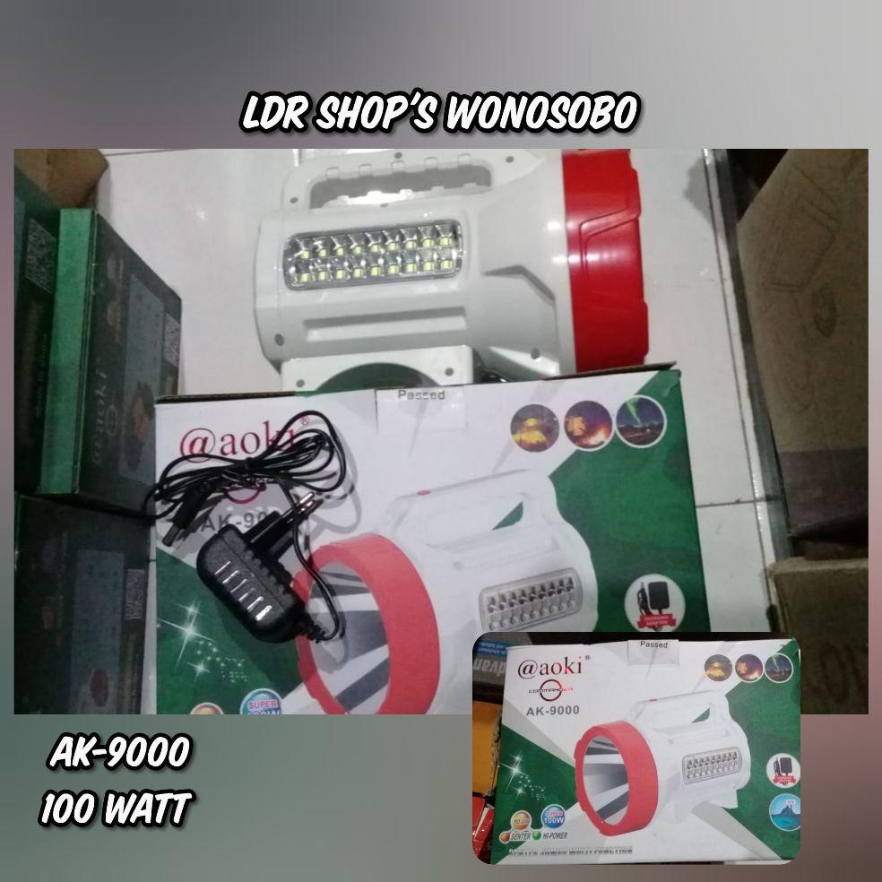 Senter Besar dan Emergensi Aoki 100 Watt AK-9000