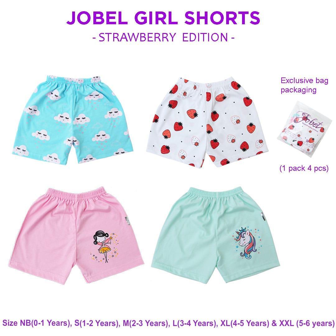 Kazel Jobel Short Pants Strawberry Edition Celana Pendek Isi 4