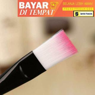 Kuas MakeUp Kuas Masker Wajah Kecantikan Bening Pink - Super Powers thumbnail