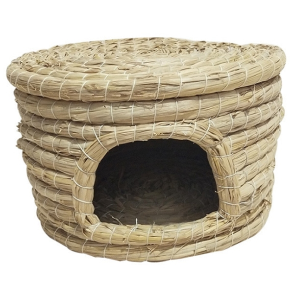 Straw Bird Cage Pet Bird Nest Pigeon Nest Parrot Cage Squirrel Cage Straw Pigeon Nest Straw Pet Nest