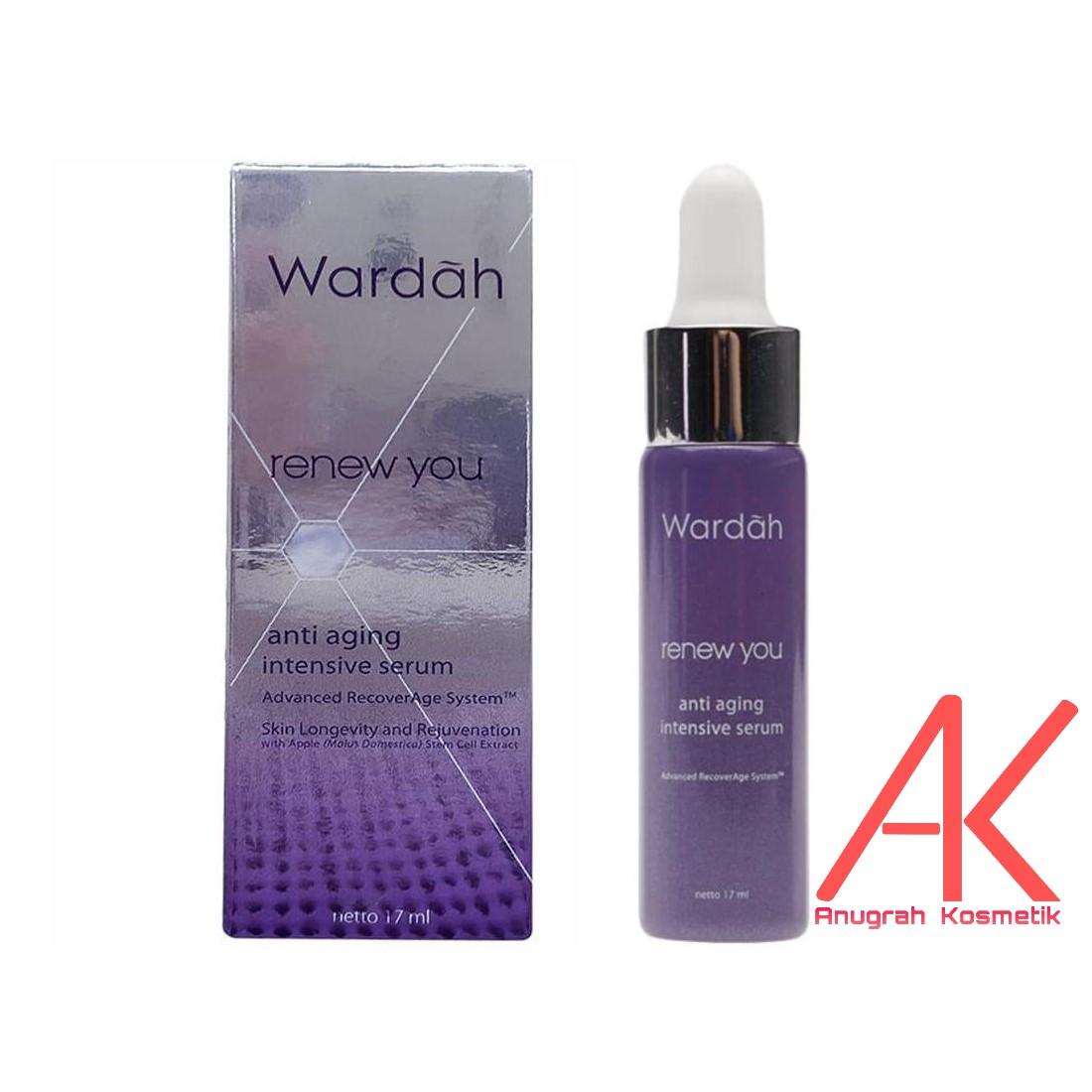 Wardah Renew You Anti Aging Intensive Serum 17ml (Anti Kerutan dan Flek Hitam)