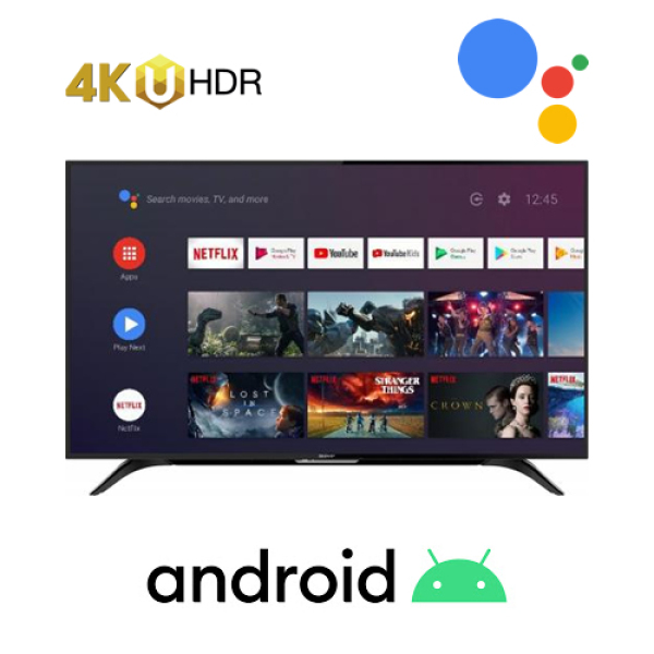 Sharp Aquos 50 inch 4K Ultra-HDR Android Smart LED TV 4T-C50BK1i
