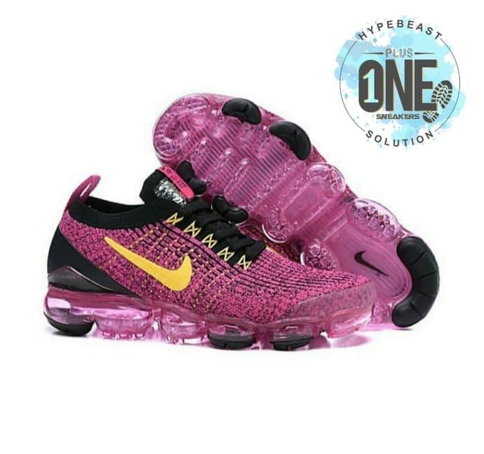 d34c1c78a097d NIKE  AIR VAPORMAX FLYKNIT 3.0 Pink Purple Black UNAUTHORIZED Original BNIB  Sepatu Sneakers Sepatu Wanita Sepatu