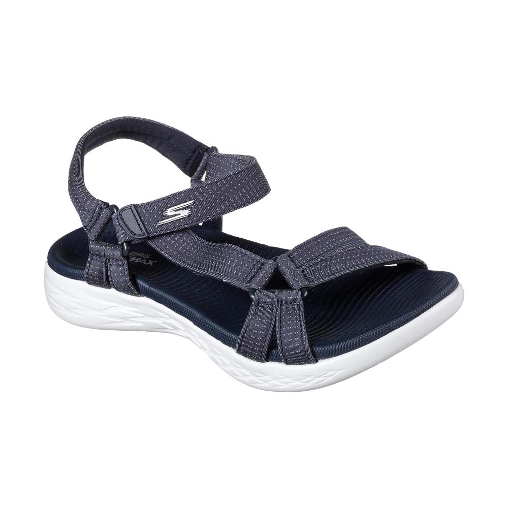 Sandal Olahraga Casual Skechers On The Go 600-Brilliancy W Sandal - Navy  15316NVY 73ef357091