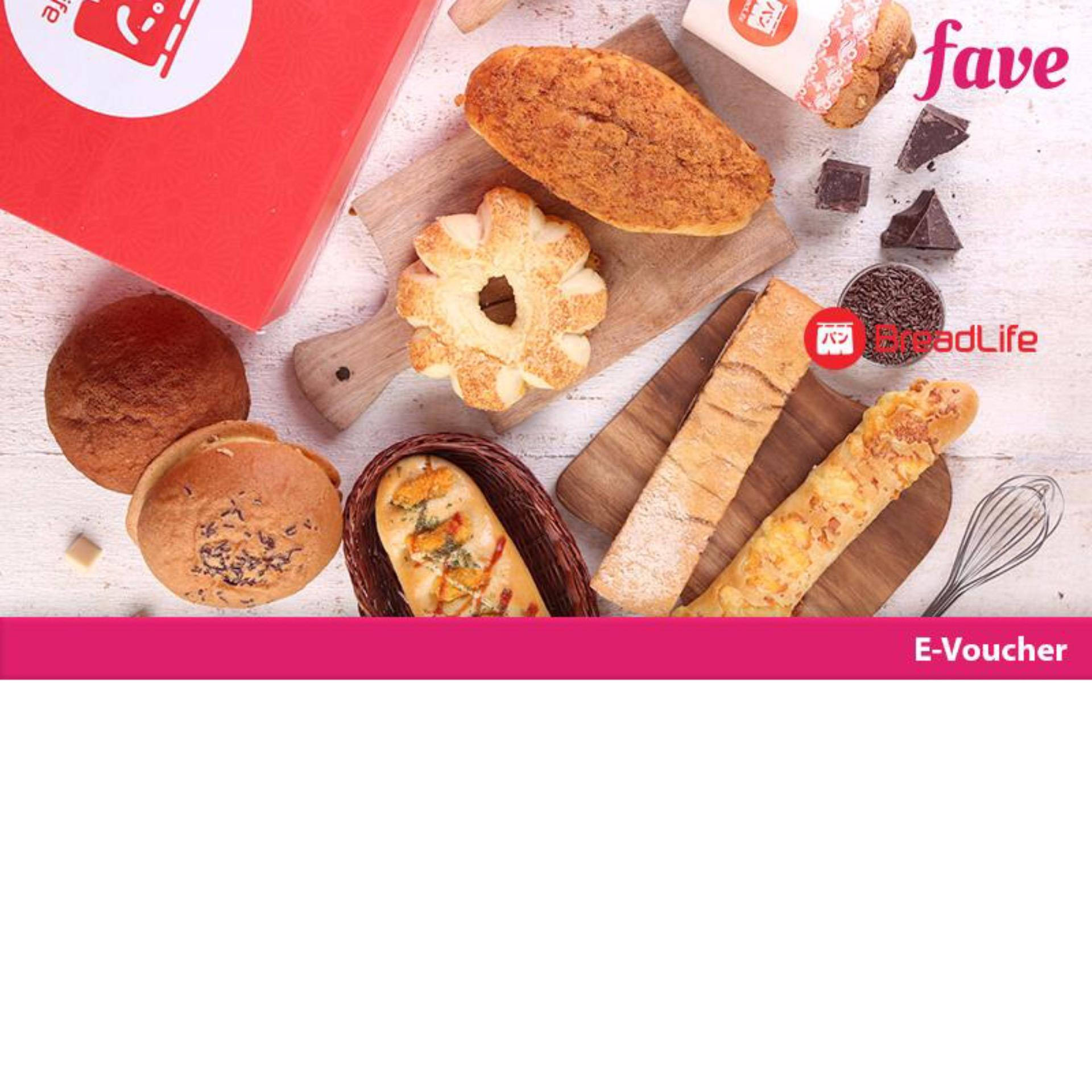 Breadlife Paket 3 Roti By Fave Indonesia.