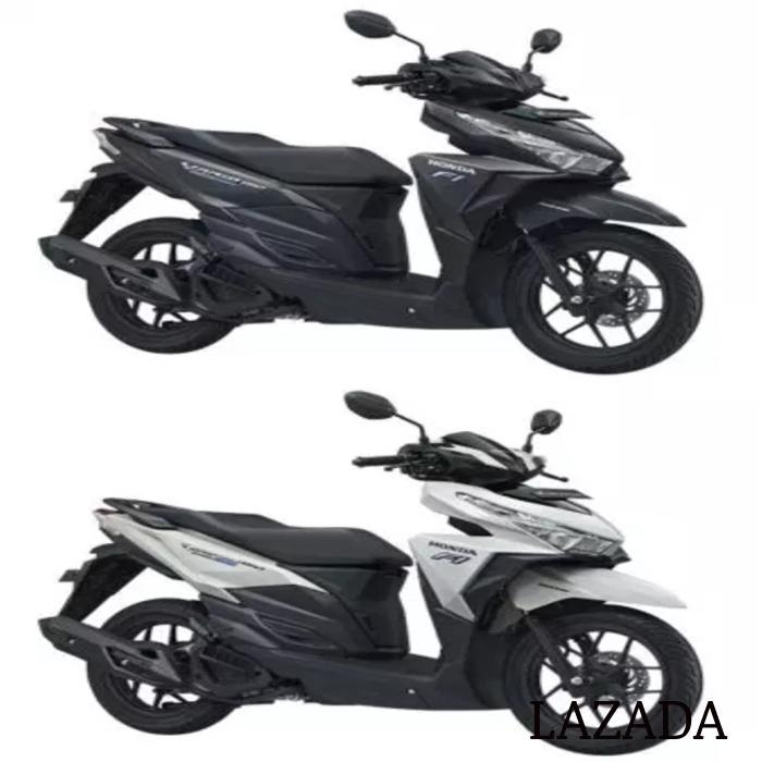 44650-K59-A10ZA Velg Racing Depan Hitam Plus Dop Vario 125 150 LED ESP -