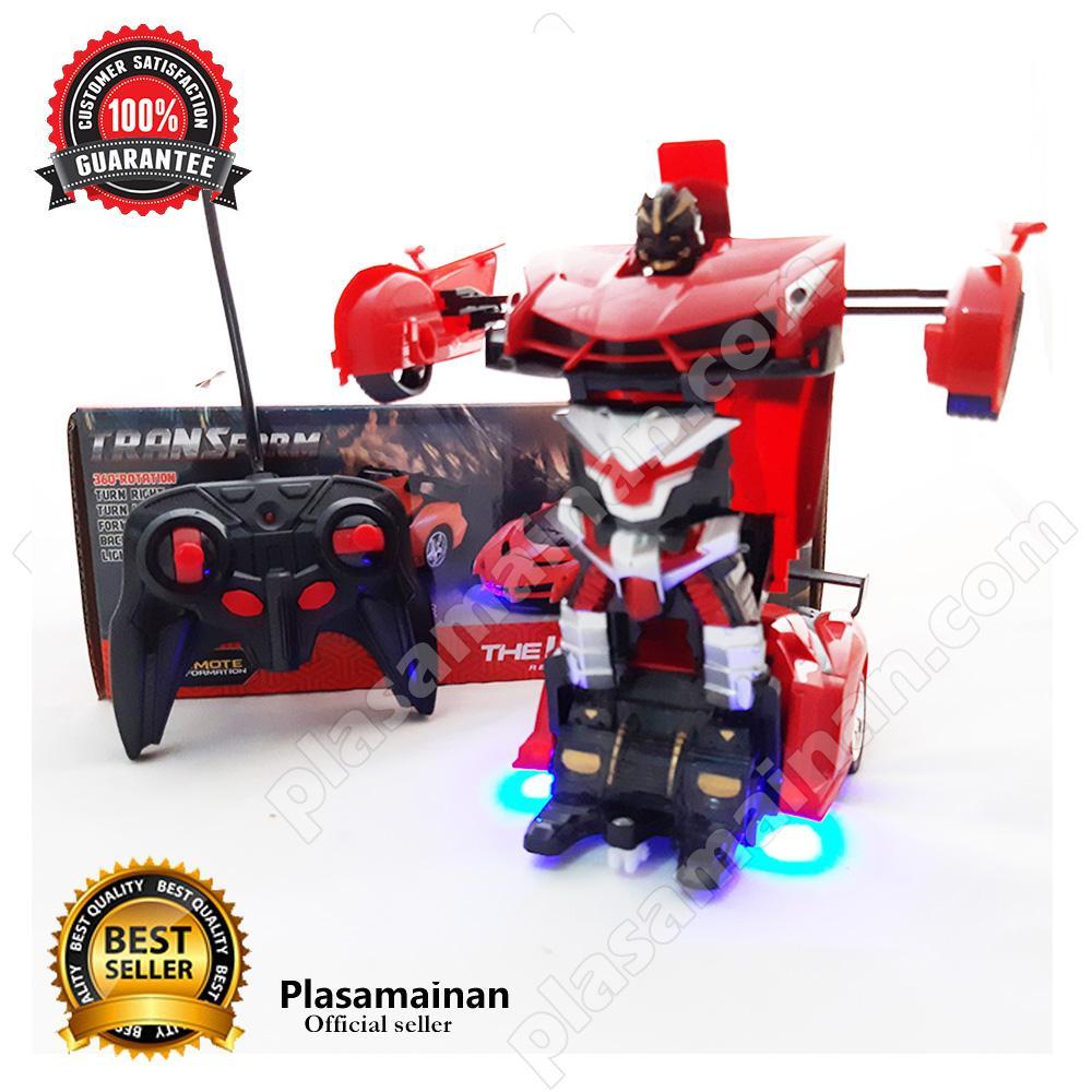 AA Toys Transform The Last Knight 333-002A Autobots - Mainan Mobil Robot Remot / Mainan Anak Laki Laki