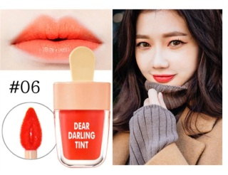 NOVO Vivid Ice Cream Lip Tint Water Fruitee Lip Stain Lip Gloss Non-Stick Cup Liquid Lipstick 24H Long Lasting thumbnail