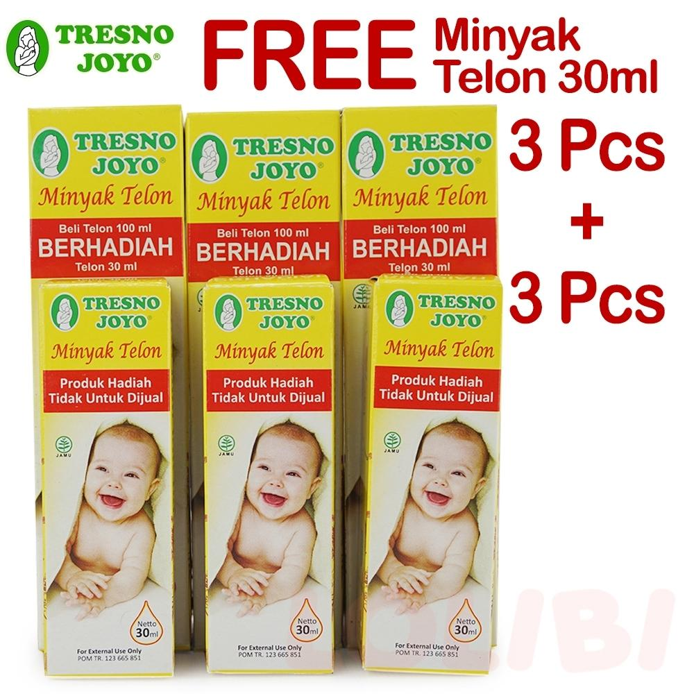 Tresno Joyo Minyak Telon 100ml + Free Minyak Telon 30ml - 3 Pcs By Lolibi.