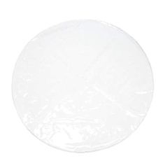 Splat Mat For Under High Chair/Arts/Crafts Kids Toddler Washable Large Waterproof Round Clear Chair Floor Protector