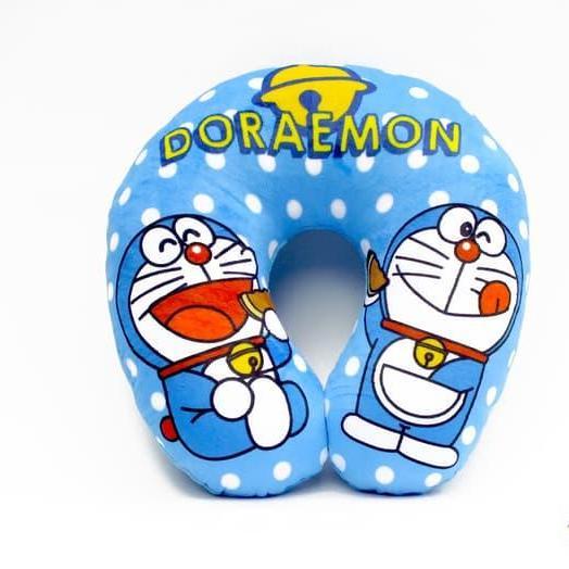 Bantal Leher Bantal Kepala Bantal Leher Mobil Bantal Santai Bantai Keren Bantal Lucu Bantal Imut Bantal Karakter Motif Doraemon Dorayaki Sangat Sangat Halus Dan Lembut Tidak Mudah Kempes High Quality - Hitam By Ria_store.