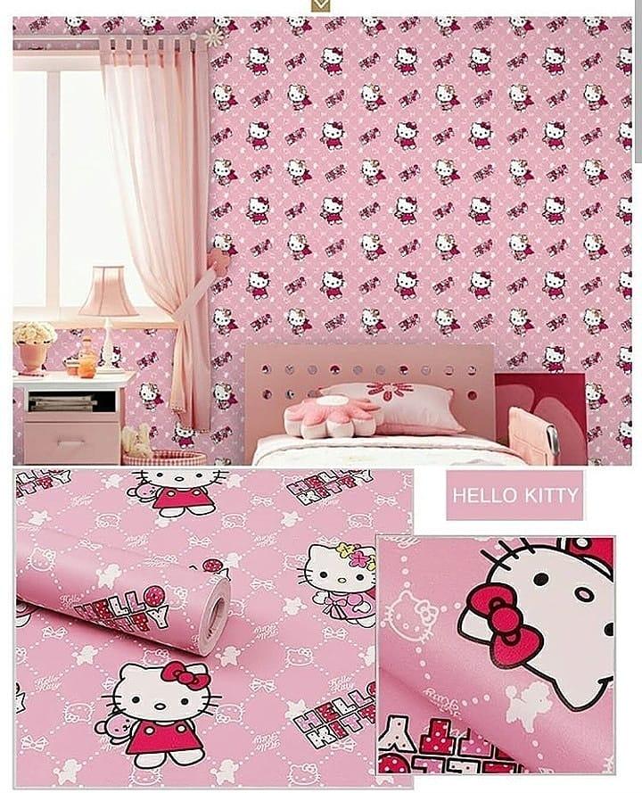 Baca Deskripsi Wallpaper Dinding 45 Cm X 1 Meter Bisa Bayar Ditempat Promo Wallpaper Dinding Per Meter Walpaper Dinding Tembok Motif Hello Kitty Pink Peri Angel Termurah Terlaris Best Seller Lazada Indonesia