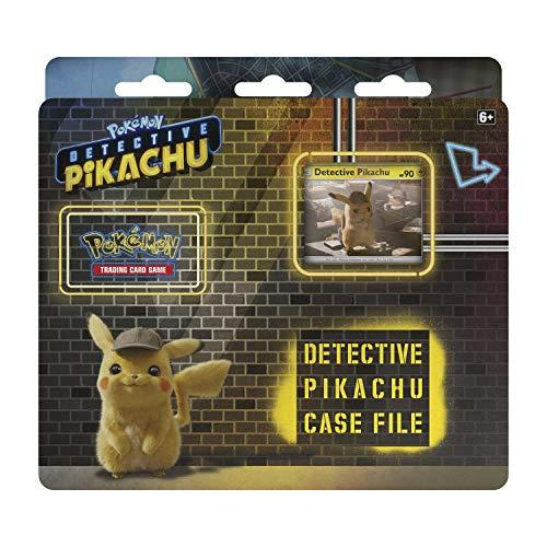 Pokemon TCG: Detective Pikachu Case File + 3 Booster Pack + A Promo Card +