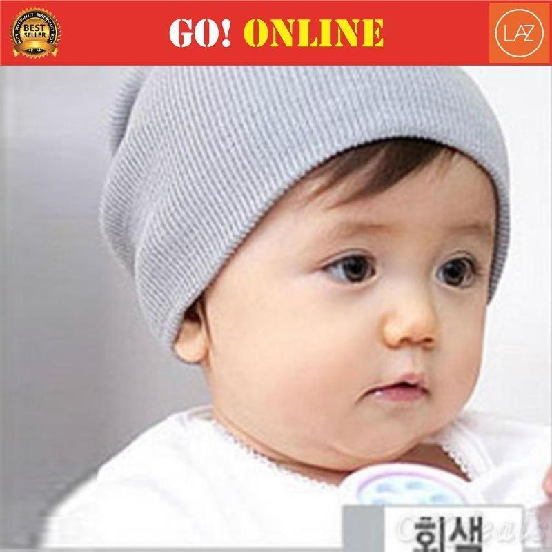 Topi Kupluk Anak Bayi Balita Rajut Beanie Baby Hat Wol 68a111dfb2