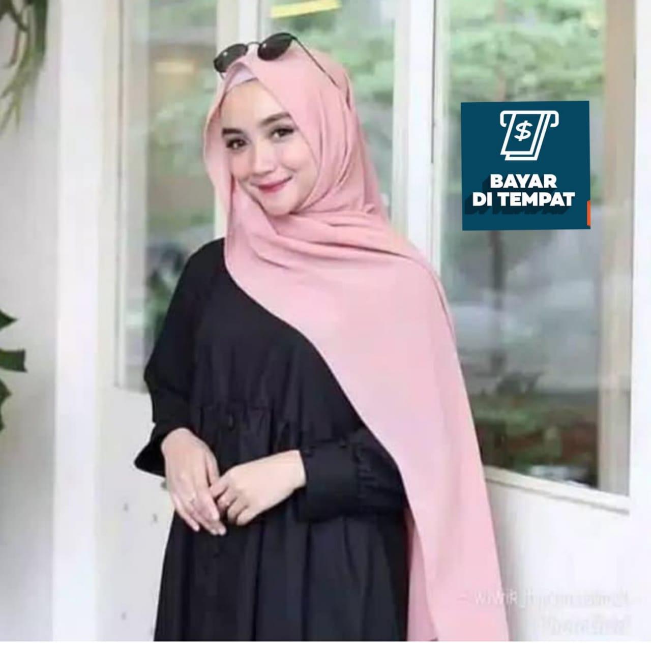 Jilbab/ Hijab Pastan SABYAN pashmina instan artamika, kerudung murah hits