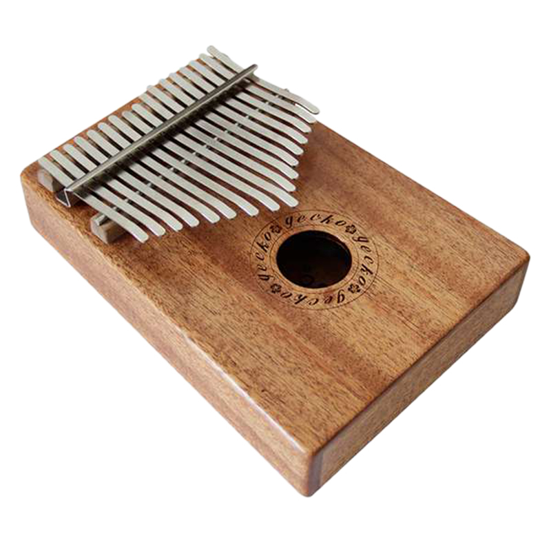 17 Key Thumb Piano with Tuning Hammer for Beginners C Tone