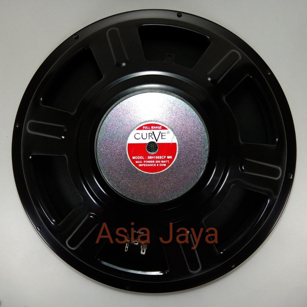 Speaker 15 Curve Full Range 38h156scf Mk By Toko Asia Jaya.