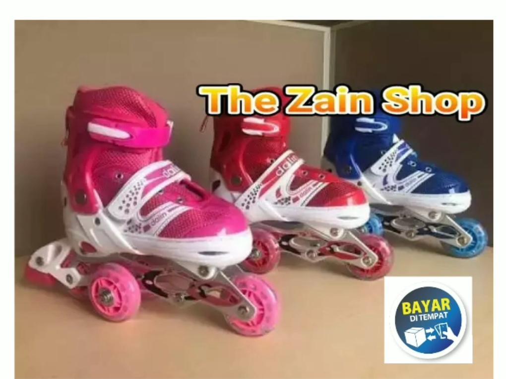 Sepatu Roda Anak Perempuan Bajay By The Zain Shop.