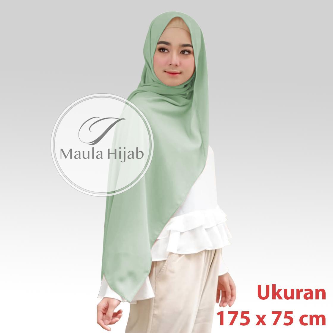 Maula Hijab Kerudung Jilbab Terbaru 2019 Pasmina Sabyan Polos Wanita Terbaru Pashmina Sabyan Pasmina Sabyan Diamond Style Trend Lebaran 2019