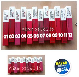 ADM - MAYBELLINE SUPER STAY MATTE LIPSTIK MAYBELLINE TAHAN 12 JAM thumbnail