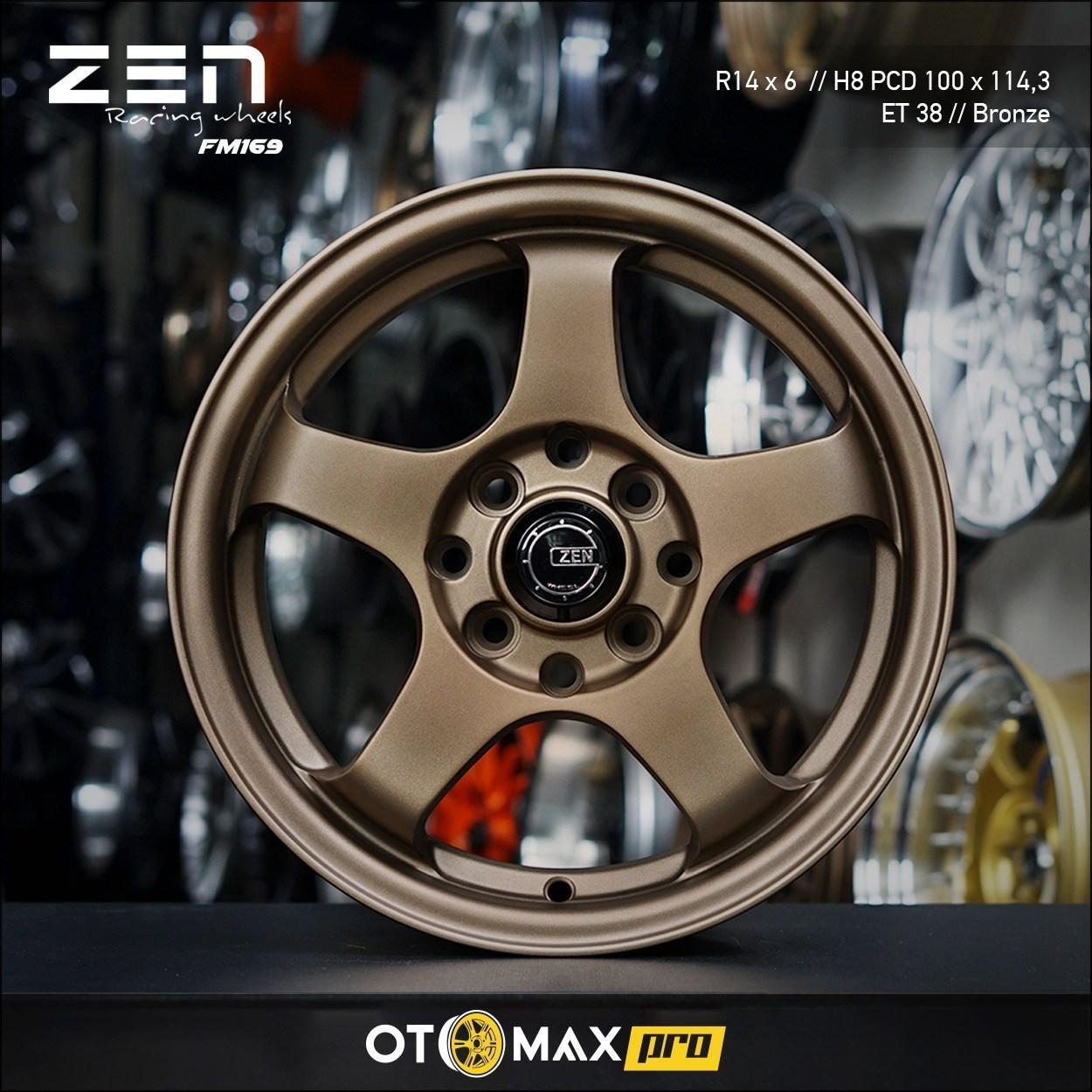 Velg Mobil Zen FM169 Ring 14 Bronze