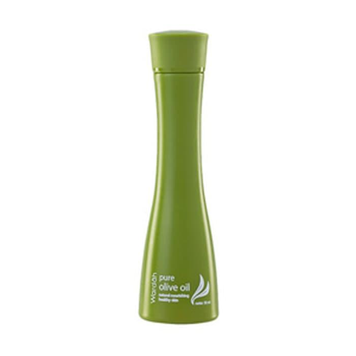 Wardah ~ Minyak Zaitun (Pure Olive Oil 50Ml) Untuk Mata Panda/Kantung Mata, Strechmark, Bibir Kering, Tumit Pecah2