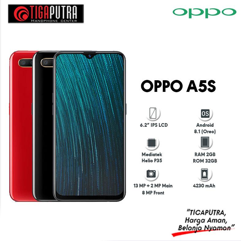 Oppo A5S Ram 3GB / Rom 32GB Garansi Resmi Oppo Indonesia