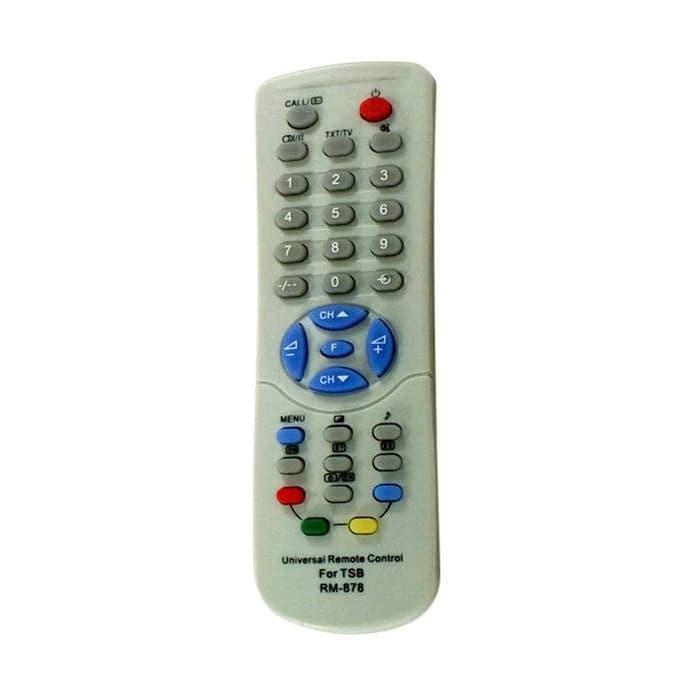 Universal Remote Control for Toshiba TV Tabung or CRT - Free Batterai