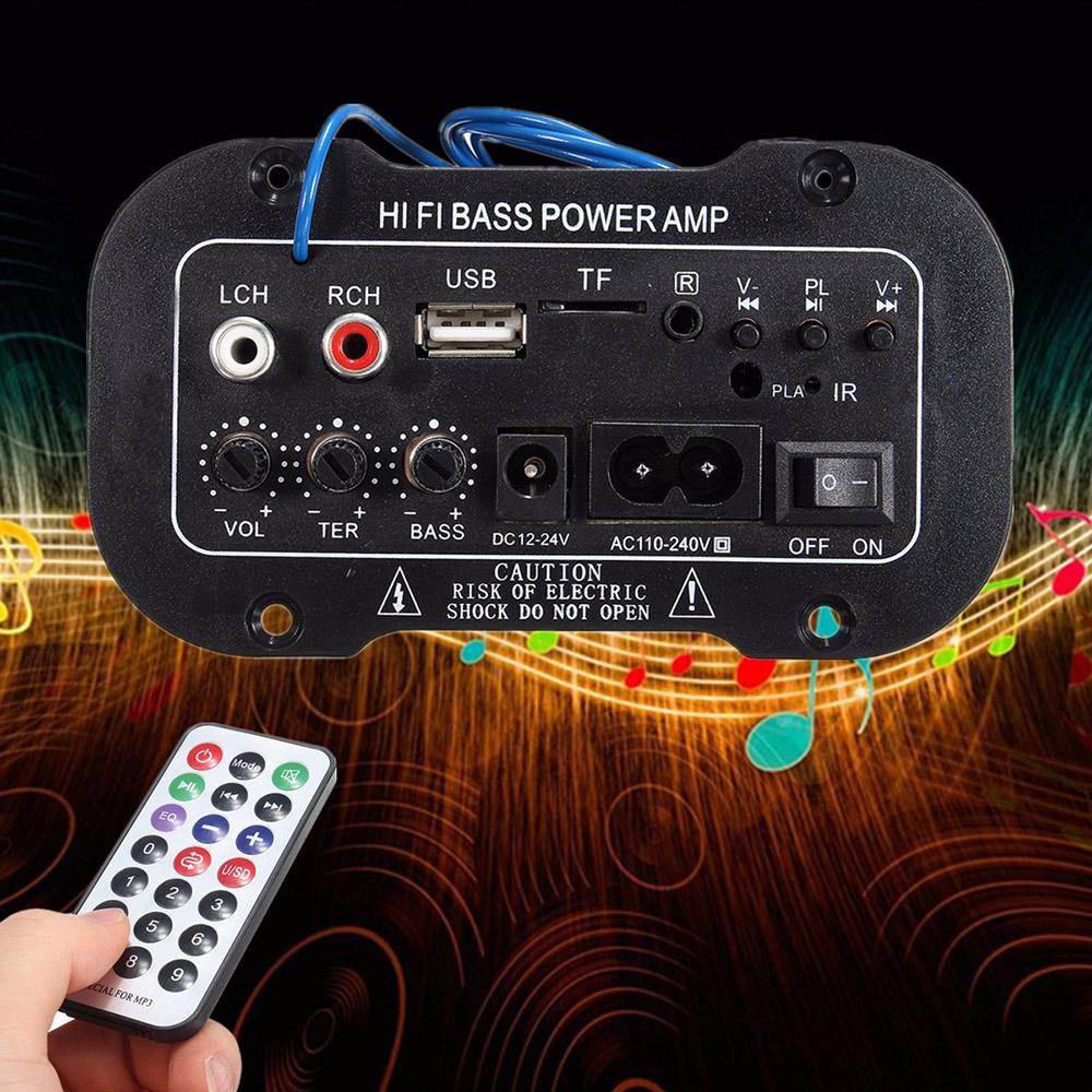 Nemoto Bảng Khuếch Đại 220V Xe Bluetooth 2.1 Hi-Fi Âm Bass Mạnh Bộ Khuếch Đại Điện Mini Xe Âm Thanh Radio Bộ Khuếch Đại Điện Lifier Kỹ Thuật Số USB U Đĩa TF Điều Khiển Từ Xa Giá Ưu Đãi Không Thể Bỏ Lỡ