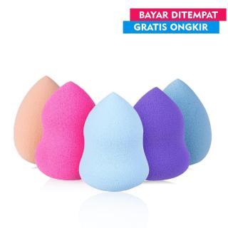 Uniklo - Aimons Spon Beauty Blender Foundation Guci Spons Make Up [1 Pcs] - Multi Colour thumbnail