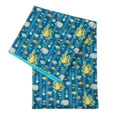 Waterproof Mat Washable Highchair Splat Floor Mat Anti-Slip Mat for Floor or Table Art Crafts Playtime 51inch x 51inch
