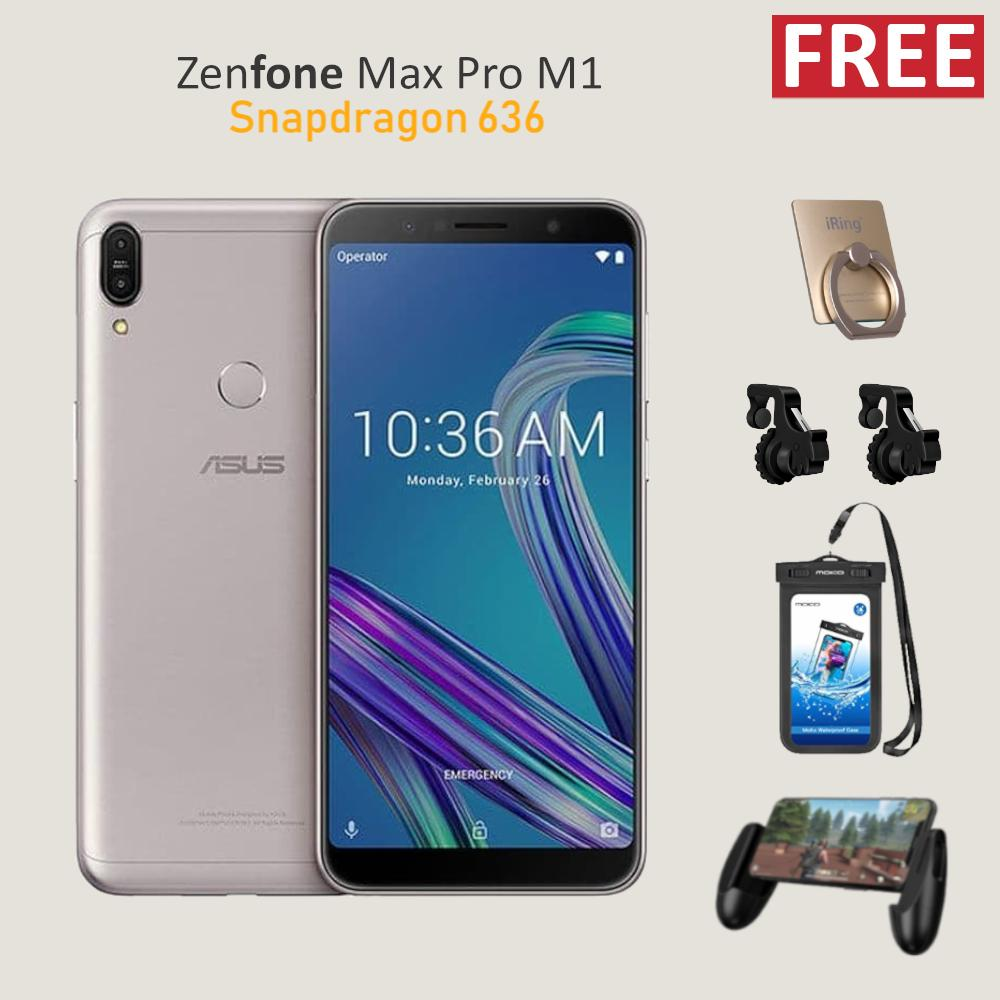 Asus Zenfone Max Pro M1 ZB602KL 6/64 Snapdragon 636 5000mAh Resmi + Free Special Gift