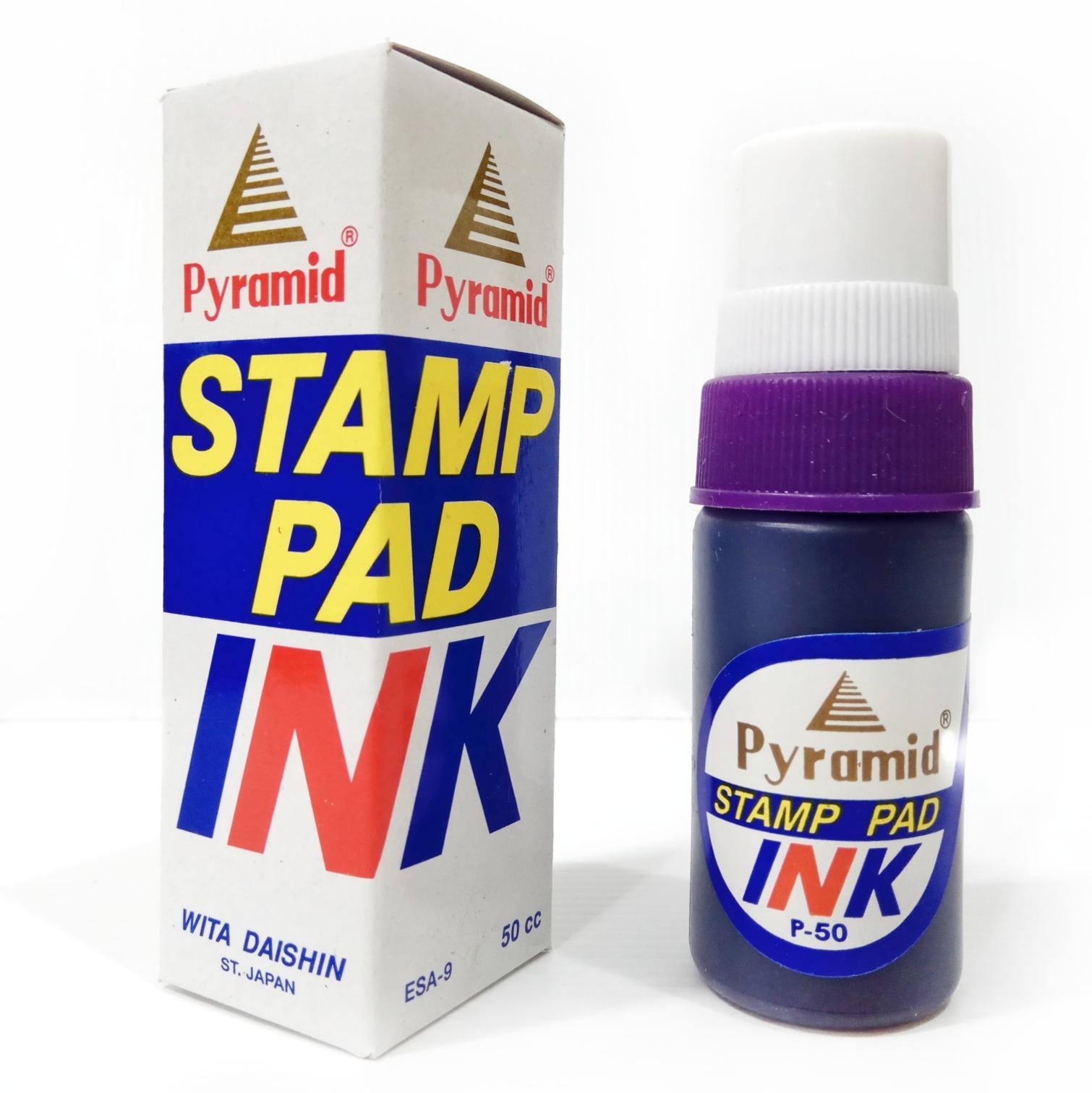 Tinta Stempel Pyramid Stamp Pad Ink Pyramid 50 cc