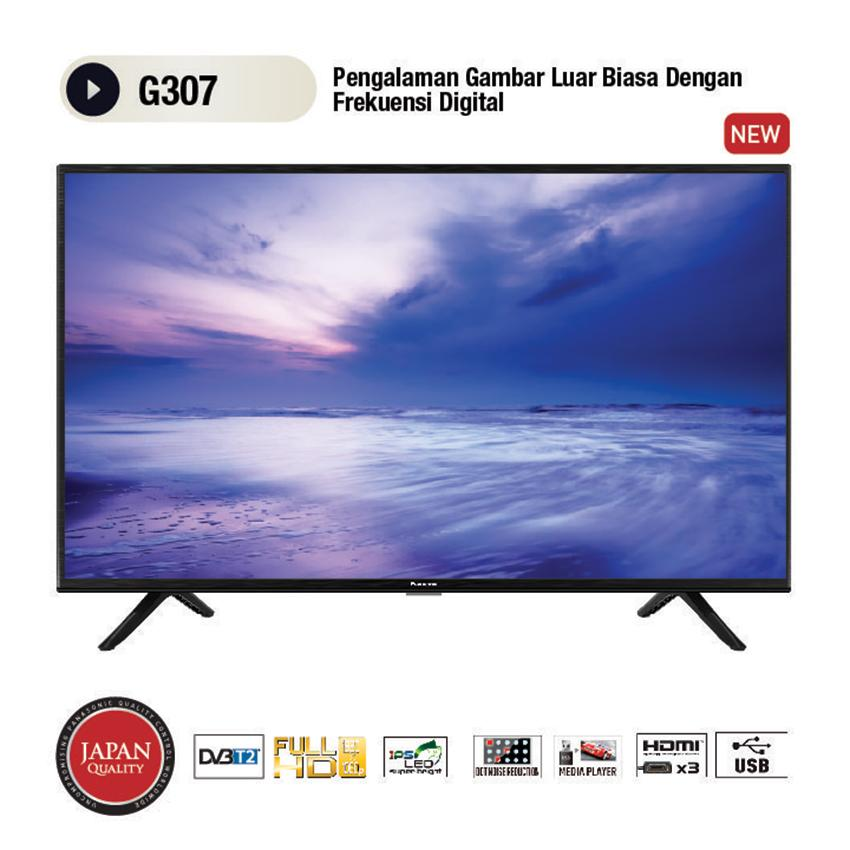 [GRATIS ONGKIR] Panasonic 32 Inch HD Ready LED TV - Hitam (Model 32G307G)