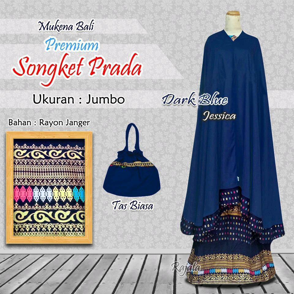 Mukena Rempel Songket Prada - Rukuh Modern Perlengkapan sholat Para Muslimah Mukenah Dewasa