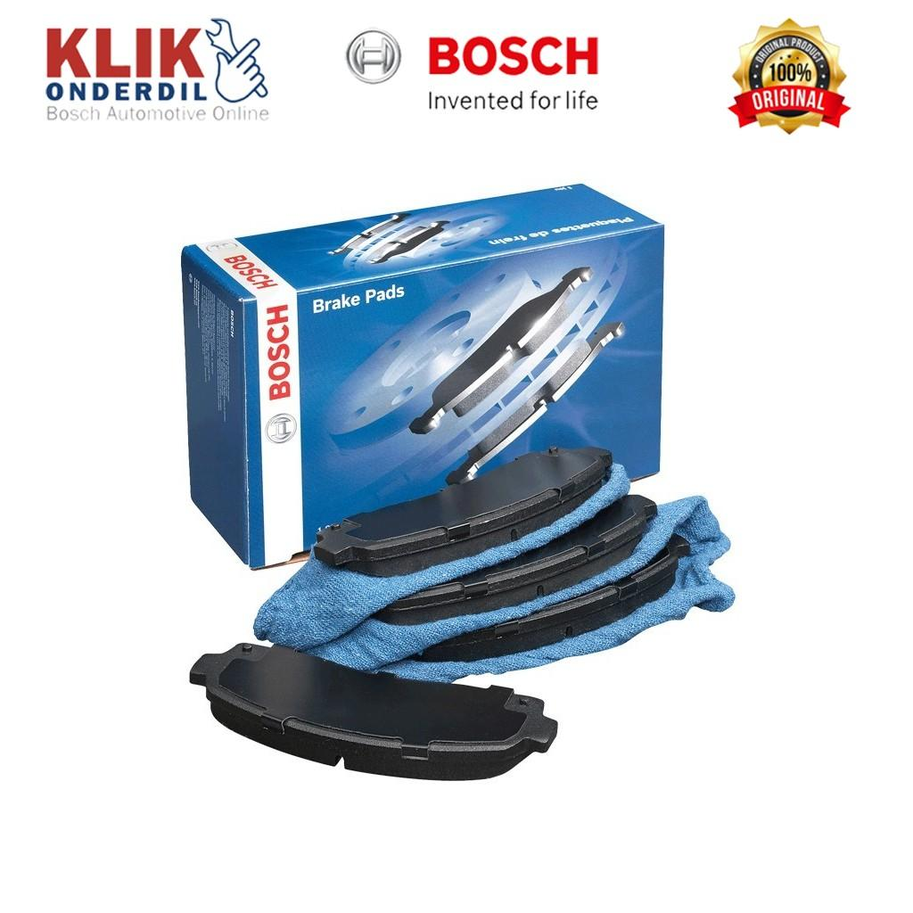 Bosch Kampas Rem Depan Mobil Honda City, Civic, Accord - 1 Set - 0986505337