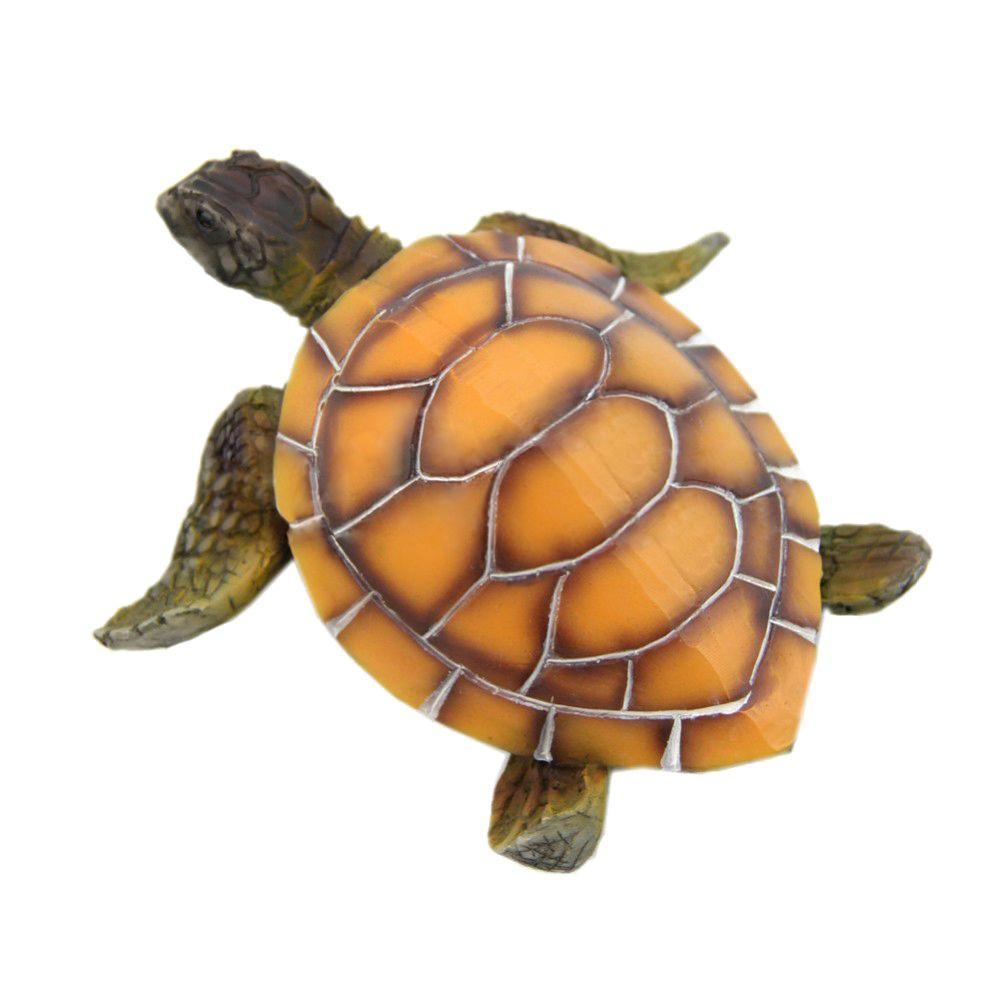 Aquarium Ornaments Decoration Artificial Turtle For Fish Tank Man Made Resin Tortoise Landscaping Decor Aquarium Accessories By Superbuy888.