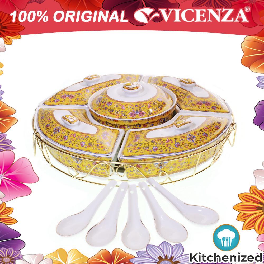 ORIGINAL VICENZA Prasmanan Snack Cantik Mewah H14 HA14 Murah Banyak Motif