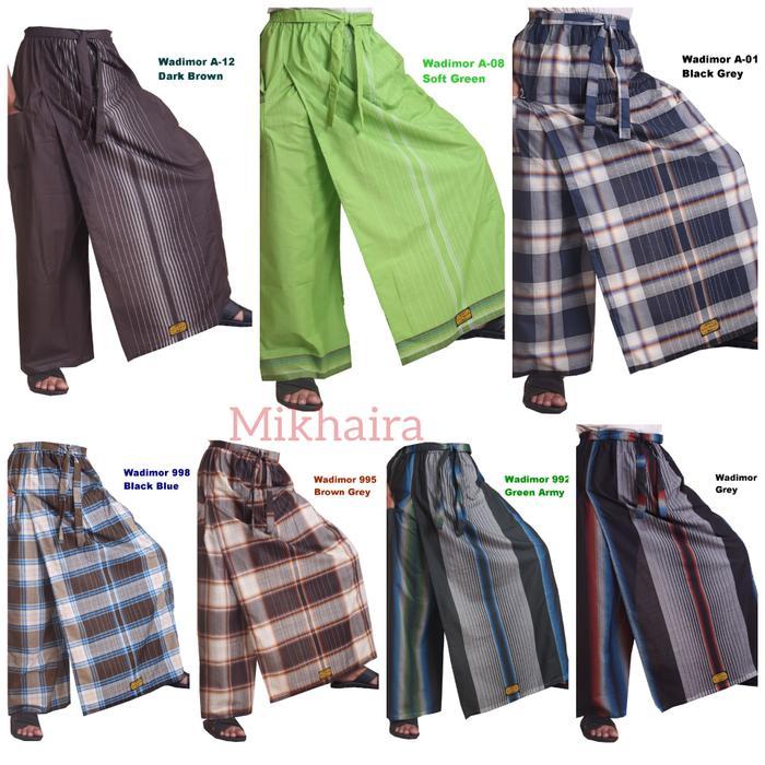 Berbagai Macam Celana Sarung Wadimor Dan Motif