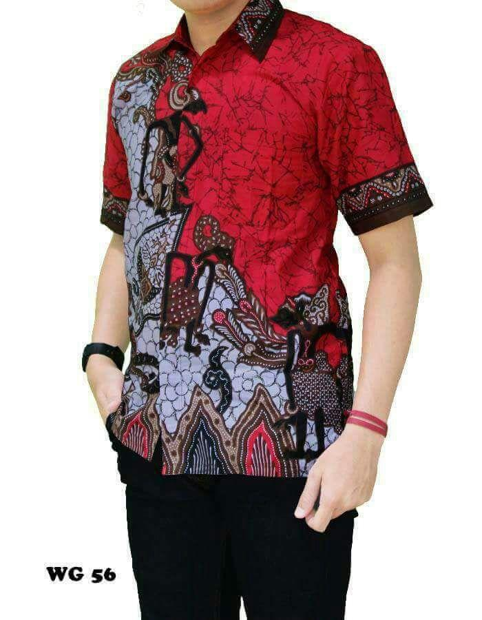 Jual Baju Batik Pria Baju Batik Modern Kemeja Batik Pekalongan Hem Batik  Kemeja Motif Pandawa - 2df66423d4