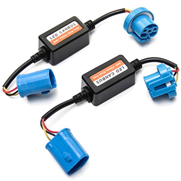 9007 9004 HID LED Headlight Canbus Decoder Anti-Flicker Error Warning Canceler