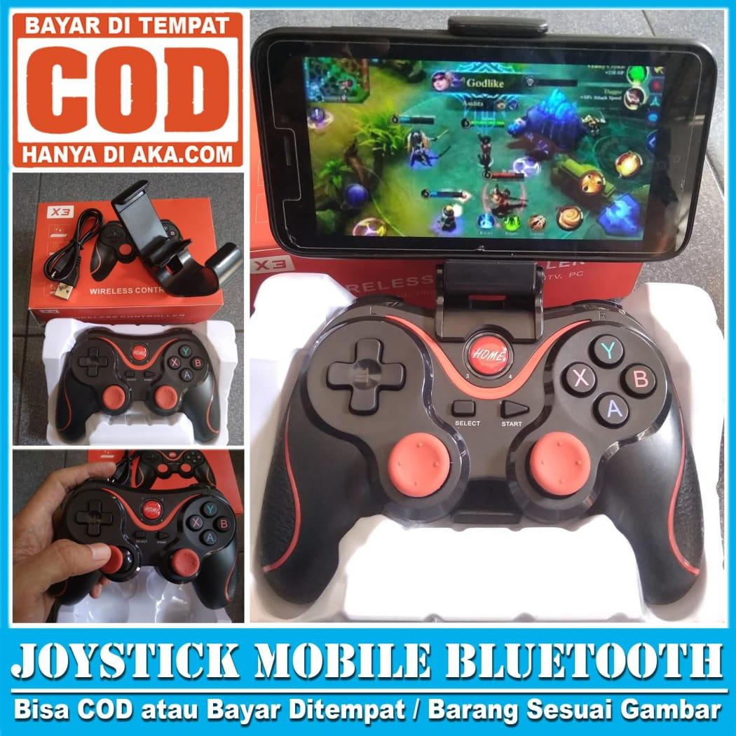 Gamepad Mobile Legends - Stik Stick Android X3 Bluetooth Wireless Controller