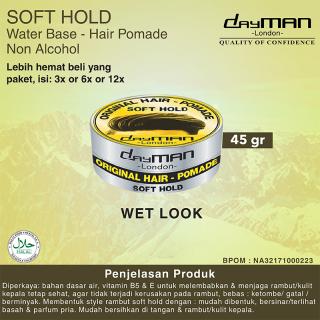 Dayman Hair Pomade - Soft Hold 45 Gr thumbnail