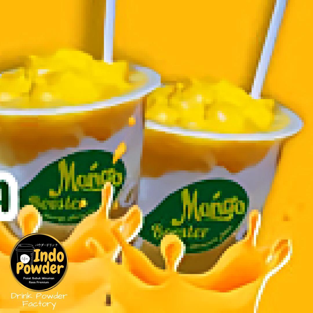 King Mango Powder 1kg / Bubuk Minuman Rasa Mangga 1kg / Bubuk Mangga 1 Kg / Bubuk Minuman Mangga 1kg / Mango Powder 1kg By Indopowder.