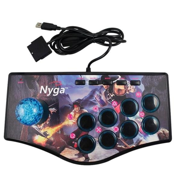 Giá Retro Arcade Game Rocker Controller Usb Joystick For Ps2/Ps3/Pc/Android Smart Tv Built-In Vibrator Eight Direction Joystick(No.A)
