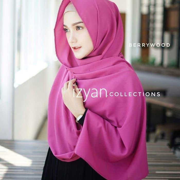 PROMO Hijab Jilbab Pashmina Instan Diamon Model Sabyan Diamond Italiano TERBARU