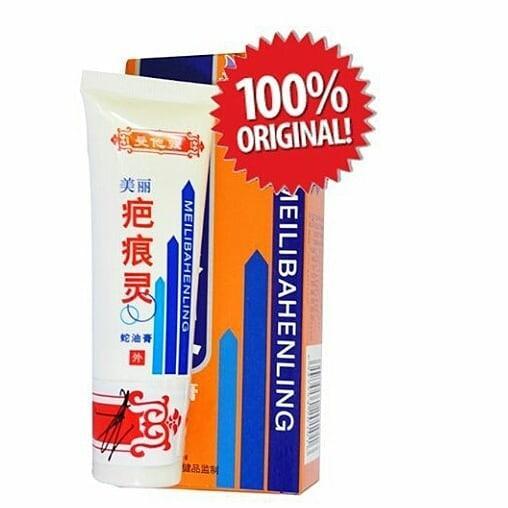 [SHINING] Meilibahenling Cream with Snail Extract / Hilang Bekas Luka / Krim Penghilang Menghilangkan Bekas Luka, Jerawat , Flek Hitam pada wajah , aman bagi seluruh anggota tubuh / 100% Asli Original