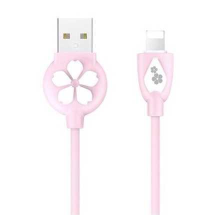 HOCO JP15 Sakura Kabel Charger USB Type C ORI Pink UA2PPN - 04